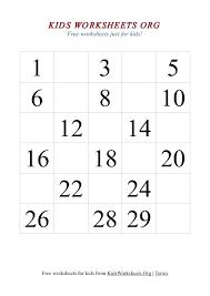 Kindergarten Missing Number Worksheet Math Worksheets Numbers 1 10 ...