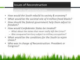 reconstruction do now reading quiz agenda reading quiz  3 how