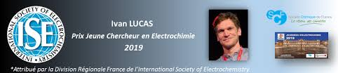 "International Society of Electrochemistry award (ISE) ""Yound researcher in  Electrochemistry"" for Ivan T. Lucas 