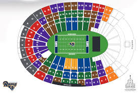 Los Angeles Memorial Sports Arena And Coliseum Seating Chart Los Angeles Memorial Coliseum Los Angeles Ca Seating