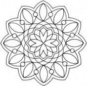 Disegni Di Mandala Semplici Da Colorare Pagine Da Colorare