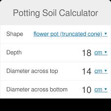 Potting Soil Calculator Omni