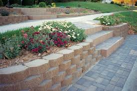 how to build a raised stone patio