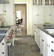 Slate Tile installed in Kitchen Floor
