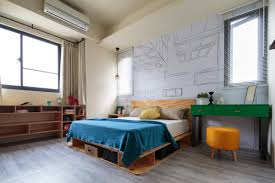 Quirky Bedroom Furniture Aviation Inspiration And Superhero Dreams In A Quirky Tainan Home