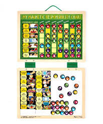 My Magnetic Responsibility Chart Take A Look At This Melissa Doug My Magnetic