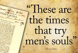 a brief publication history of the ldquo times that try men s souls thomas paine s sensational pamphlet common sense published anonymously in of 1776 has a singular place of importance in the literature of the
