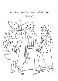 Small Picture Abraham And Sarah Coloring Pages zimeonme