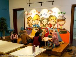 Indonesian Table Setting Chingu Cafe A Place Where You Can Find Korean Food On A Budget