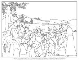 Use the john the baptist coloring page as a fun activity for your next children's sermon. St John The Baptist Roman Catholic Church Front Royal Va 540 635 3780