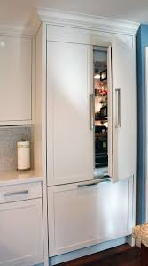 what is a built in refrigerator. Unique Built Painted  Built In Refrigerator Panels Kitchen Cabinets Fridge For What Is A Built In Refrigerator E