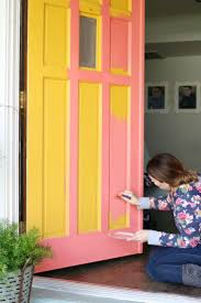 Coral Front Door 95 Best Curb Appeal Images On Pinterest Curb Appeal Front Doors