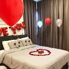 romantic room surprise