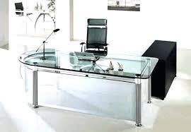 tempered glass office desk. Tempered Glass Office Furniture Desk Desks Decorating Ideas .