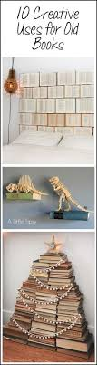 10 creative uses for old books