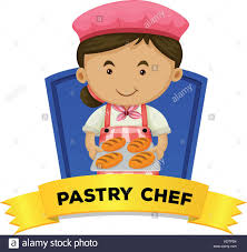 Pastry Chef Stock Vector Images Alamy