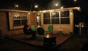 patio lights. How To Hang String Outdoor Lights Patio