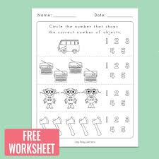 Subtraction Worksheets for Kindergarten Inspirational Counting to 5 ...