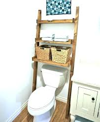 toilet shelf behind toilet shelf behind toilet shelves ideas for old ladders farmhouse style storage unit