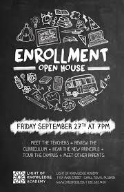 School Open House Flyer Template Psd Docx The Flyer Press