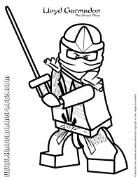 Small Picture Lloyd Garmadon The Green Ninja Coloring Page H M Coloring Pages