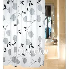 black and white shower curtain black and white striped shower curtain target