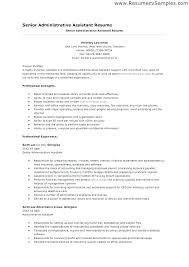 Executive Assistant Resume Objective Resume Templates For Cool Create My Resume