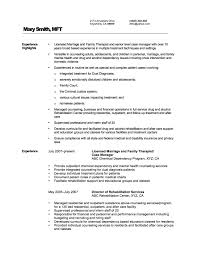 Best Solutions Of Mental Health Counselor Job Description Resume