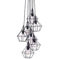 Industrial Cluster Pendant Lighting