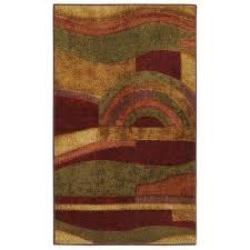 picasso wine 3 ft x 4 ft indoor area rug
