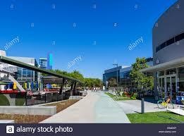 google head office. Google Head Office Campus, Mountain View, Californias, USA - Stock Image C