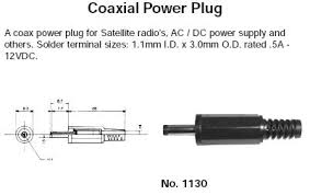 Dc Power Plug Size Chart Dc Power Connector Size Chart Best Picture Of Chart
