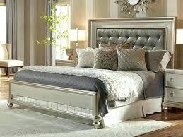upholstered king bedroom sets. Diva Bedroom Set Tufted King Lovable Upholstered  Platinum Bling . Sets M
