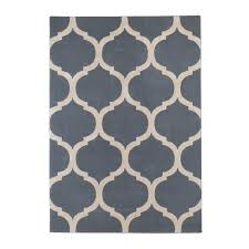 moroccan pattern navy rug  rugs  carpetright