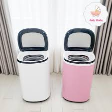 Máy giặt đồ cho bé MINI DOUX LUXURY, Máy giặt tự động sấy khô 4,5kg -