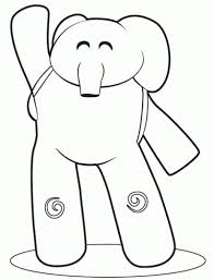 Pocoyo Pato Coloring Pages Coloring Pages Printabel Pocoyo Loula