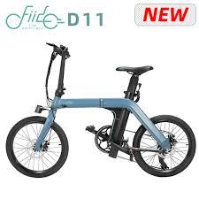 [Free Lock] 20 Inch Tire <b>FIIDO D11 Folding</b> Electric Moped Bike ...
