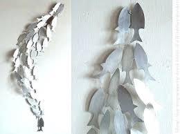 metal fish art wall decor metal fish art wall decor shoal the long wave metal art metal fish art wall