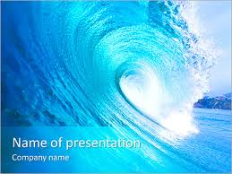 wave powerpoint templates huge wave powerpoint template backgrounds id 0000005371