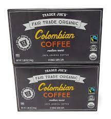No interest in trying any other 3rd party. Amazon Com Trader Joe S Organic Columbian Coffee 12 Single Serve Cups Pack Of 2 Grocery Gourmet Food