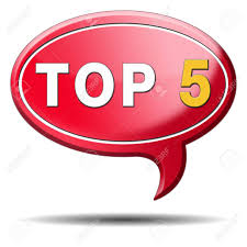 Top 5 Charts List Pop Poll Result And Award Winners Chart Ranking