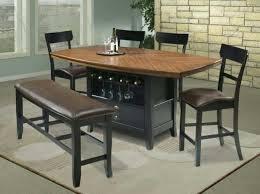 Dinette Set With Wine Rack homelegance elmhurst dining table with