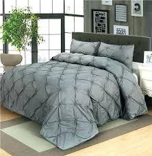 luxury duvet covers queen full image for luxury duvet cover set grey black white pinch pleat
