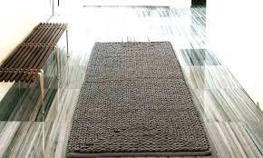 chenille bath rugs rug bathroom braided oversized black set reviews