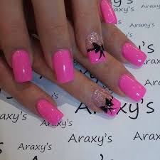 Pink Nail Art Design Pink Nail Art Design