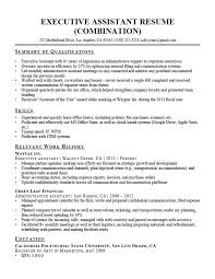 Resume Sample For Executive Assistant Best of Executive Assistant Resume Resume Administrative Assistant Objective