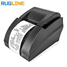 Thermal Printer Printing Light Us 29 75 15 Off Mini 58mm Usb Port Black White Printer Pos Receipt Thermal Printer Built In Power Light For Supermarket Bill Printer In Printers