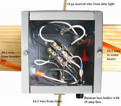 how to wire water heater two timers step by step installation of contactor acircmiddot figure volts amps watts for your water heater