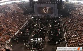 are loge seats better than floor seats for miley cyrus concert at td garden