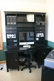 ikea hemnes desk with 2 x hutches